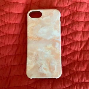 iphone 6/6s/7/8 rose marble case